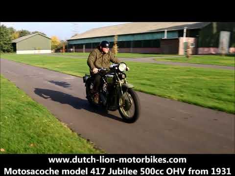 Motosacoche model 417 Jubilee 500cc OHV from 1931