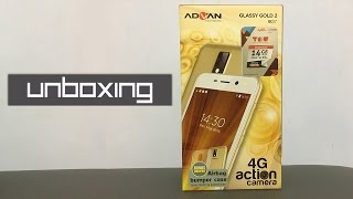 Unboxing Advan i5E Glassy Gold 2 Detekno
