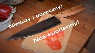 Jak zrobić NÓŻ KUCHENNY ze starej piły! - Prosty nóż szefa kuchni - ZRÓB TO SAM krok po kroku!