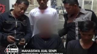 Mahasiswa di Palangkaraya Diamankan Warga & Polisi Saat Menjual Senjata Rakitan - iNews Pagi 22/01 | iNewsTV - News