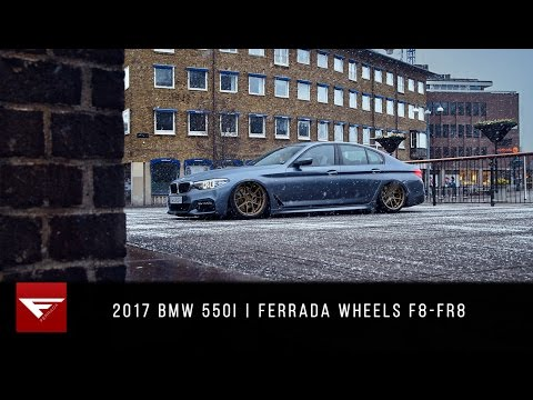 2017 BMW 550i | 4k | Ferrada Wheels F8-FR8