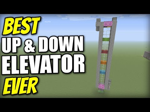 Minecraft Xbox - ELEVATOR - UP & DOWN [ Best Ever ] Redstone Tutorial - PE / PS4 / PS3 / Switch