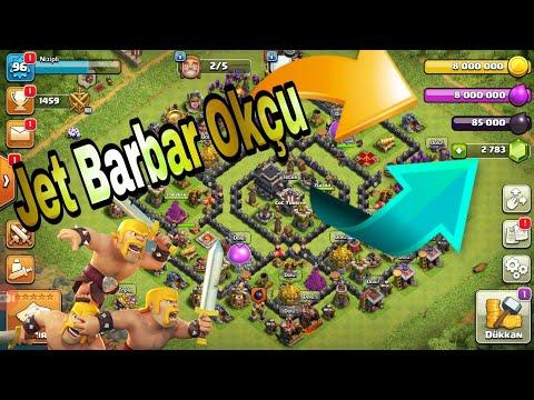 Hızlı Okçu Barbar Bırakma Taktigi Clash Of Clans