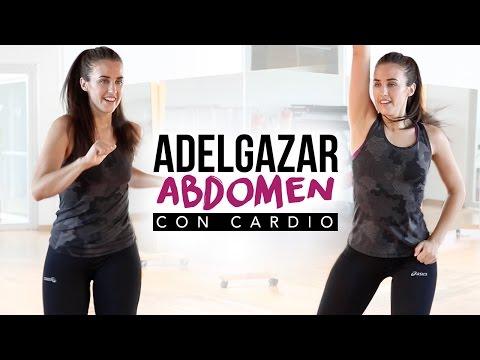 Reducir grasa abdominal con cardio intenso | 25 minutos
