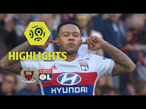 OGC Nice - Olympique Lyonnais (0-5) - Highlights - (OGCN - OL) / 2017-18