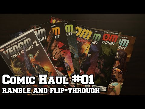 Comic Haul #01 - Ramble & Flip-Through (Soft Spoken)