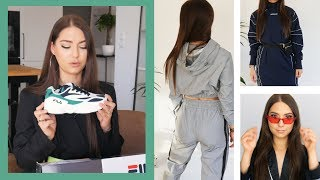 WIELKI TRY ON HAUL!  // Aliexpress / Bershka / ASOS / FILA //