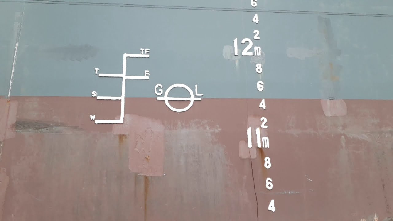 Download Load Line on Ships- Plimsoll Line.  Ships hull marking.  Reading ship's draft.