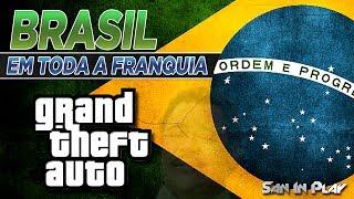Citações ao Brasil em toda a Franquia GTA!