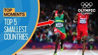 Top 5 Smallest Countries to Win Gold at the Olympics | Top Moments