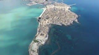 Ortigia, Siracusa vista dal drone