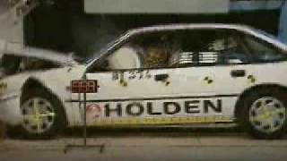 Holden Commodore Crash Test