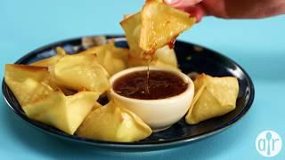 How to Make Baked Cream Cheese Wontons | Appetizer Recipes | Allrecipes.com