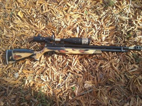 benjamin discovery  22 cal sniper rifle  bad ass gun