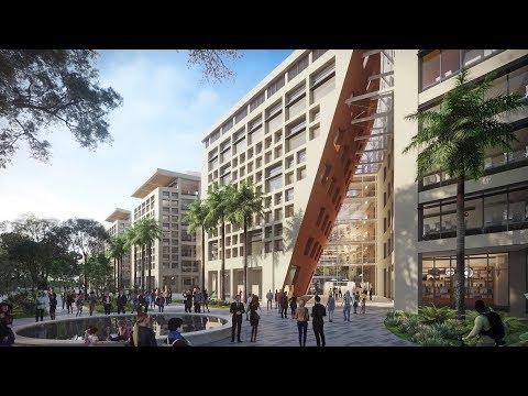 Surbana Jurong Campus animation