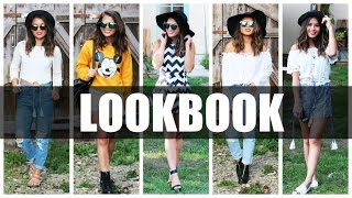 FASHION LOOKBOOK HAUL 2015 - SCHULE, URLAUB & PARTY OUTFITS! | by Nhitastic