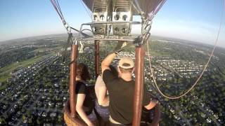 Hot Air Balloon Flight with Lindsey and Megan