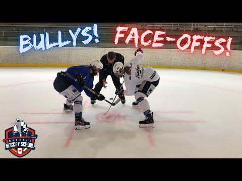 Eishockey: Bully Tutorial mit der Nationalmannschaft