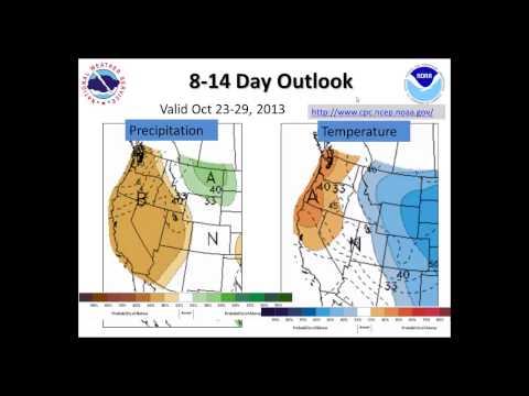 Weekly Weather Briefing, Oct 15, 2013 - NWS Spokane