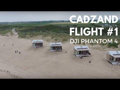drone flight #1 | Cadzand, Holland| DJI Phantom 4