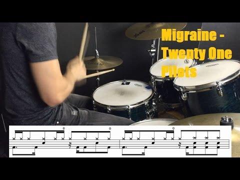 Migraine Drum Tutorial - Twenty One Pilots