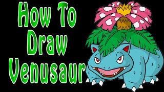 How to Draw Venusaur | Pokemon Go