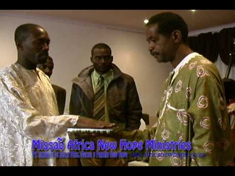 pastor ismael fernandes de jesus consagracao pr. Janvier. south africa avi.avi