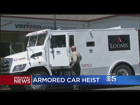 Security Guard Shot In Armored Car Robbery Outside Windsor Bank; Suspect Sought