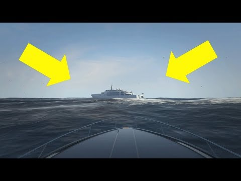 GTA 5 PALETO BAY TRIANGLE SECRET YACHT!!!