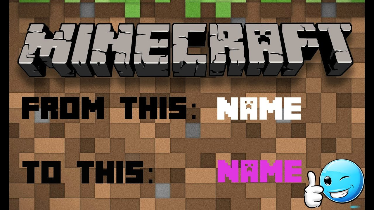 How To Change The Color Of Your Name In Minecraft YouTube - Minecraft name andern login