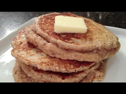 Healthy Whole-Grain and Seed Pancakes
