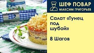 Салат «Тунец под шубой» . Рецепт от шеф повара Максима Григорьева