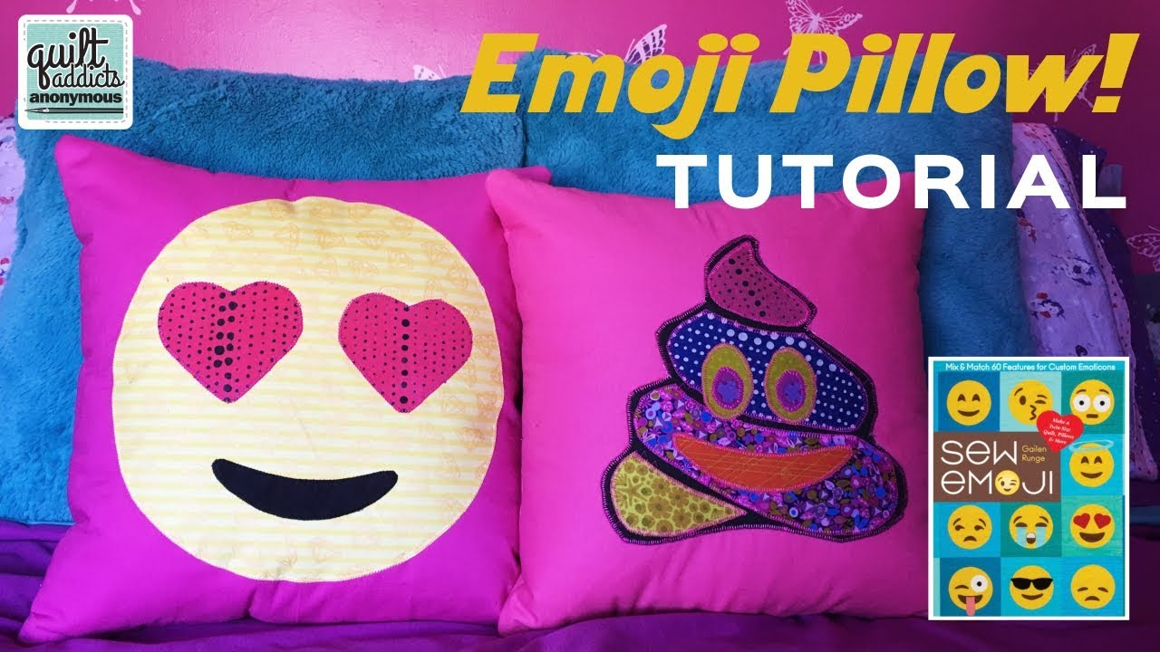 Make an Emoji Pillow with the