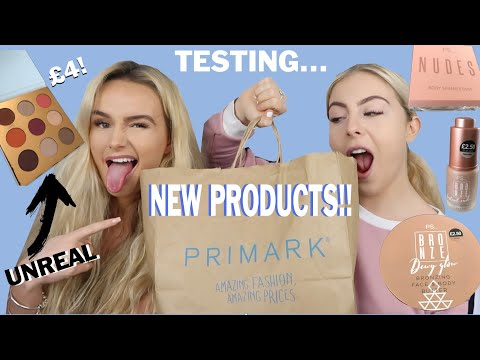 OKKUUUR! | NEW PRIMARK SUMMER PRODUCTS | SYD AND ELL