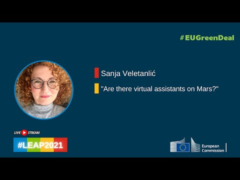 Sanja Veletanlić - Are there virtual assistants on Mars?