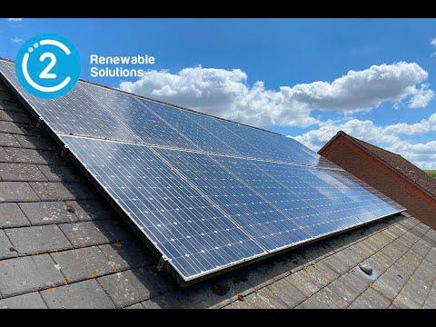 Solar Panel Installation Process. #SolarPanels