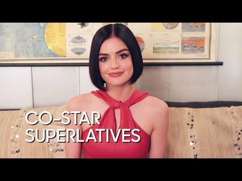 "Co-Star Superlatives: Lucy Hale ""Pretty Little Liars"""