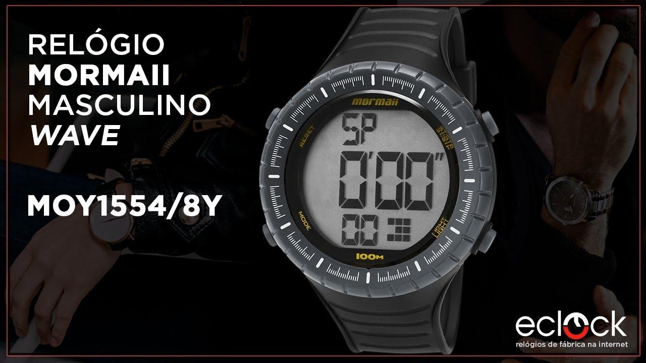28d4b05e9 Relógio Mormaii Masculino Wave MOY1554/8Y - ECLOCK