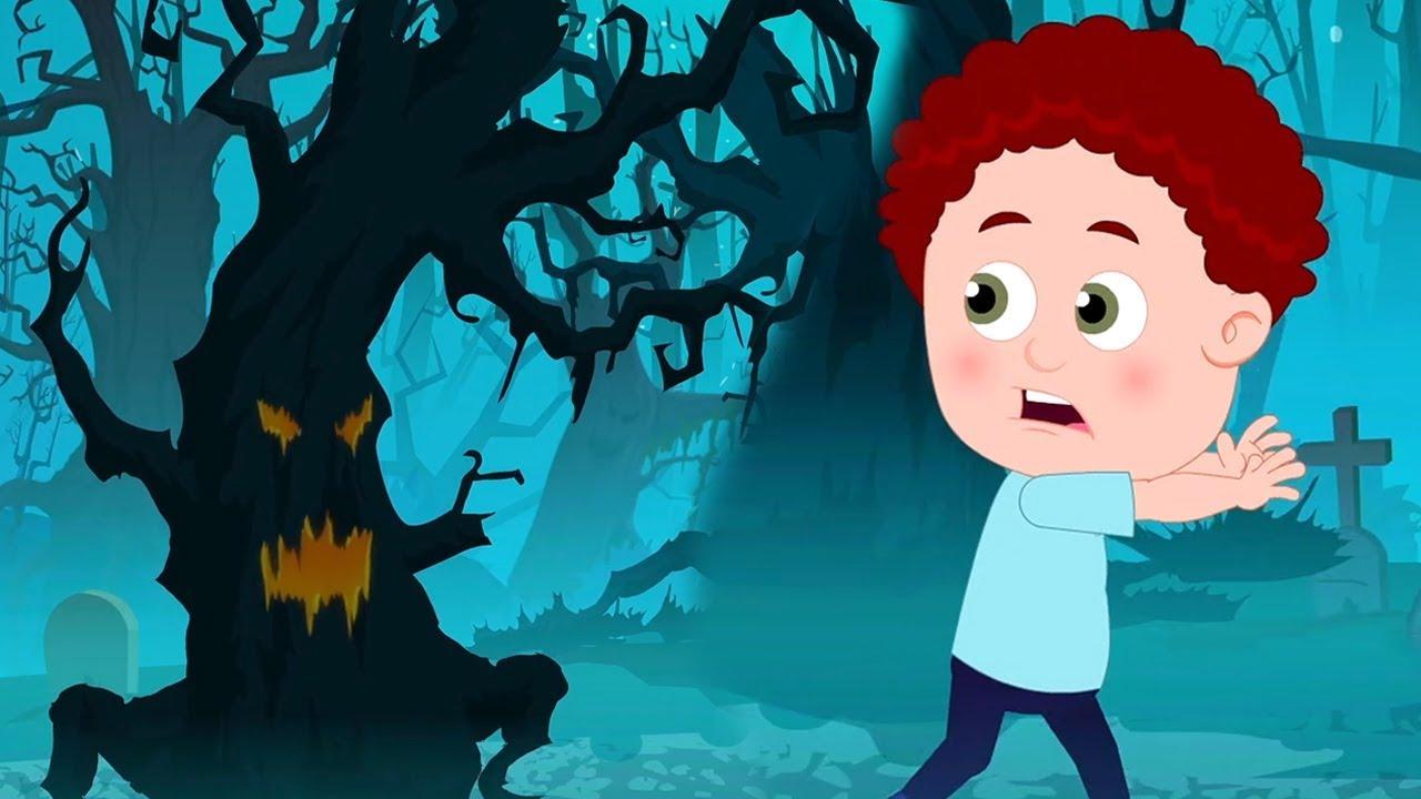 De miedo maderas halloween canci n rimas para ni os - Dibujos de pared para ninos ...
