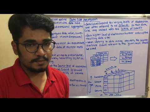 Data Mining & Business Intelligence   Tutorial #15   Data Reduction - Data Cube Aggregation