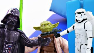 Йода против Дарта Вейдера. Игрушки Звездные войны