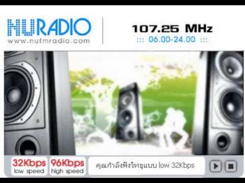 คลิปเสียงสัมภาษณ์สดในรายการ เปิดห้องงานวิจัย สถานีวิทยุกระจายเสียงมหาวิทยาลัยนเรศวร FM 107 25 MHz