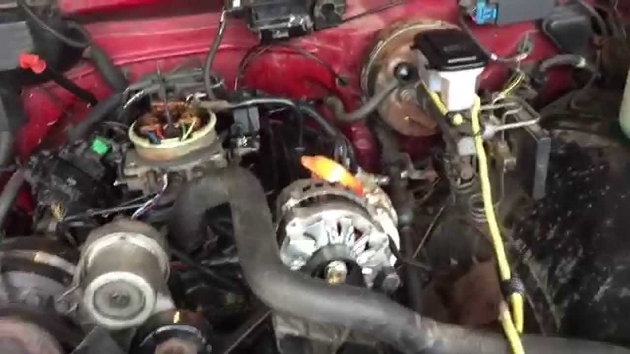 Chevy Silverado Guy >> Chevy 1990 Silverado Engine Swap - YouTube