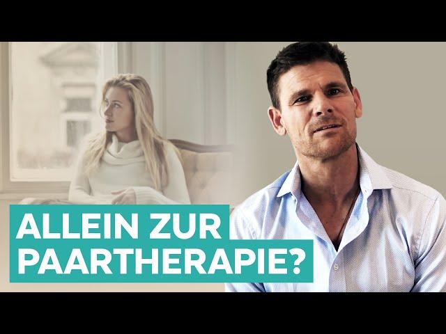 Allein zur Paartherapie - macht das Sinn?