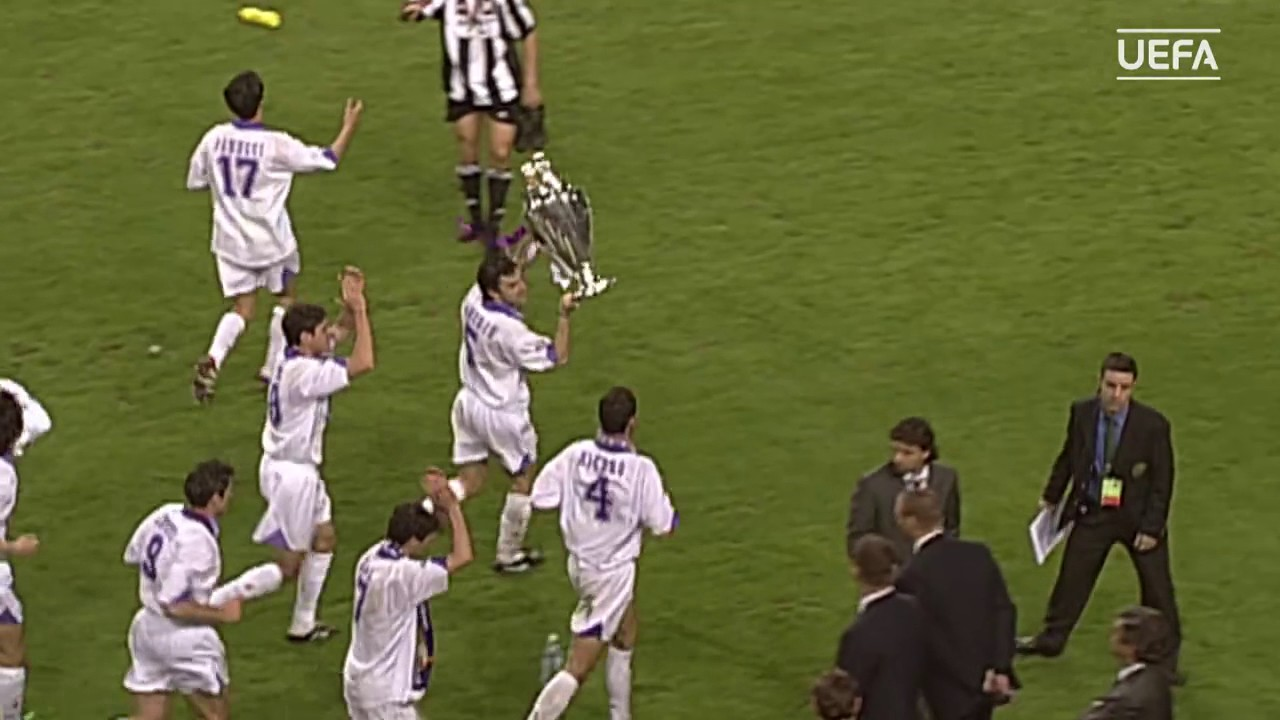 1998 Juventus 0 1 Real Madrid C F Uefa Champions League Youtube