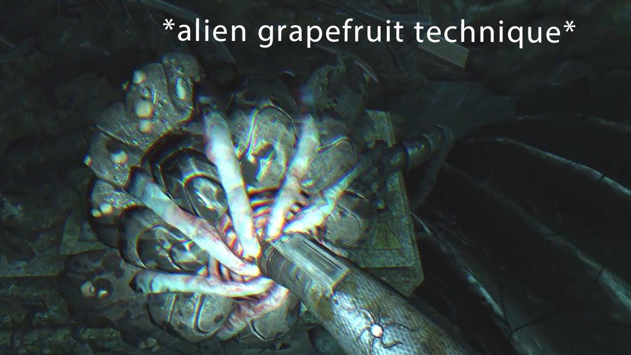 alien grapefruit technique