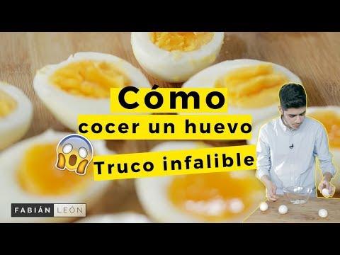 De cocidos tiempo los coccion de huevos