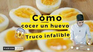Cómo cocer el huevo perfecto // ¿Cuántos minutos hacen falta?
