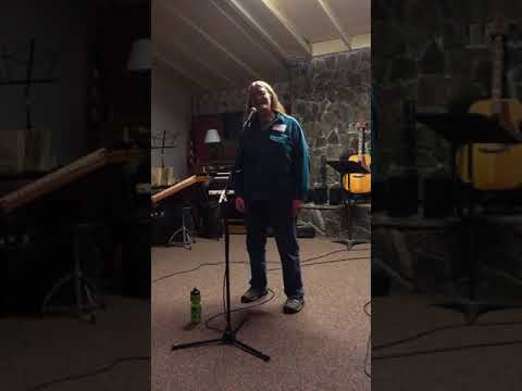 """""""You Can't Keep Me From Singing"""", words by Gordon MacDonald"""