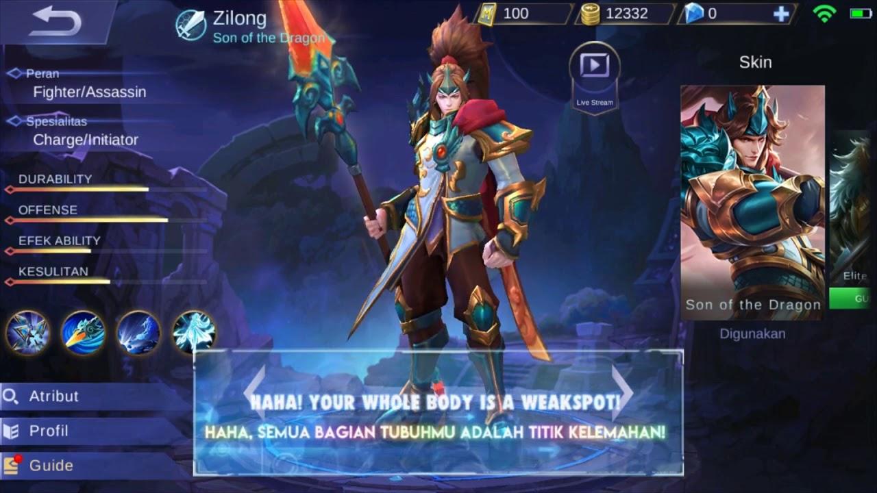 Kata Kata Bijak Zilong Mobile Legends Bahasa Indonesia